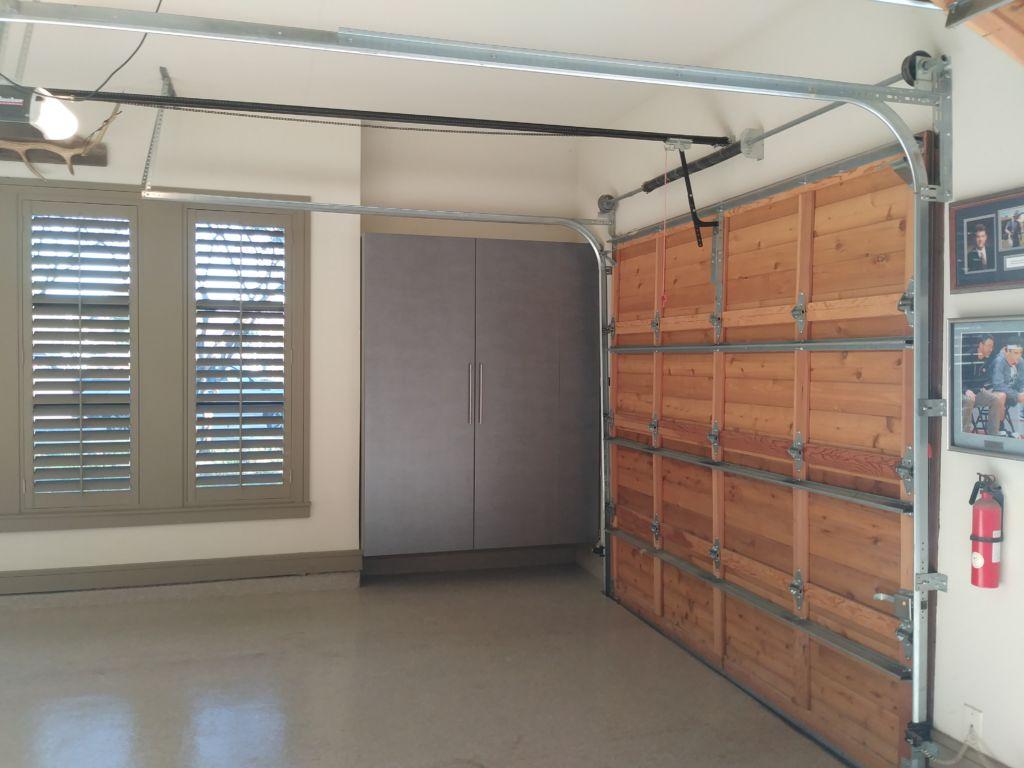 Garage Blind Cabinet